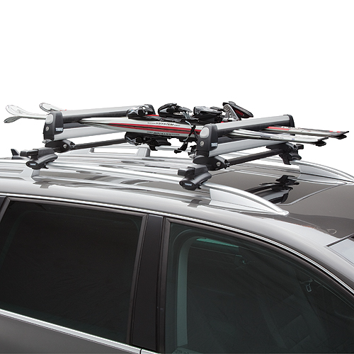 Thule PullTop 92726 Sliding Universal Ski Racks and Snowboard Carriers