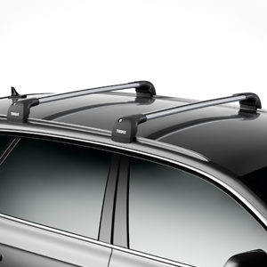 Thule AeroBlade Edge 7601 7602 7603 7604 Fix Point and Flush Rail Car Roof Racks, Single Bar