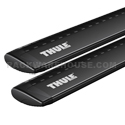 Thule 53 Black AeroBlade Aluminum Load Bars ARB53b for Rapid AeroBlade Roof Racks