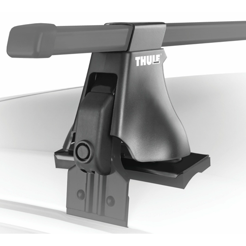 Thule Chevrolet Corsica 4 Door 1987 - 1996 Complete 400xt Aero Foot Roof Rack