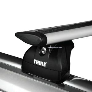 Thule Ford Aerostar with Factory Track 1985 - 1997 Complete 460r Rapid Podium AeroBlade Roof Rack
