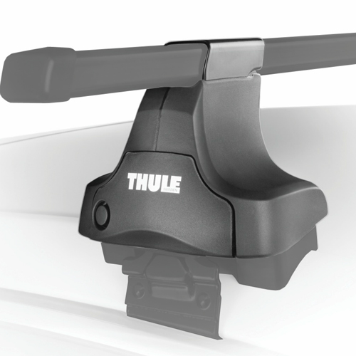Thule Honda Civic 2 Door Coupe 2001 - 2005 Complete 480 Traverse Roof Racks with Short Roofline Adapter