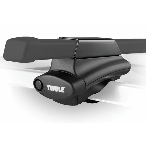 Thule Mitsubishi Outlander with Raised Rails 2007 - 2013 Complete 450 Crossroad Roof Rack