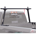 TracRac 27000b TracOne Black Clamp-On Aluminum Pickup Truck Racks