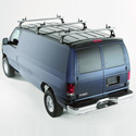 TracRac TracVan Triple 29056 Aluminum 3 Bar Van Ladder Utility Racks
