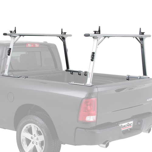 TracRac T-Rac Pro2 37004 Clamp-On Aluminum Pickup Truck Racks for 2005-2015 Toyota Tacoma