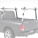 TracRac 37005 T-Rac Pro2 Clamp-On Aluminum Pickup Truck Racks for 2016+ Toyota Tacoma