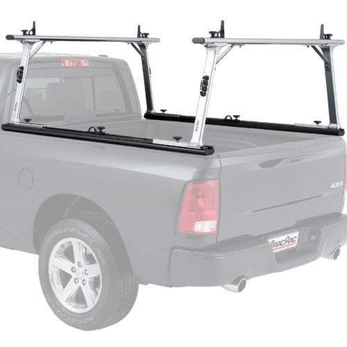 TracRac SR Complete Sliding Aluminum Short Bed Pickup Truck Utility Ladder Rack