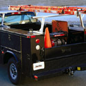 TracRac UtilityRac G2 Complete Sliding Pickup Truck Racks for Utility Service Body Trucks