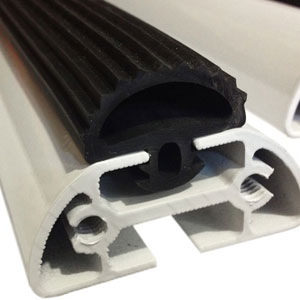 Vantech Rubber Cushion Bar Guards for Extruded Aluminum Crossbars