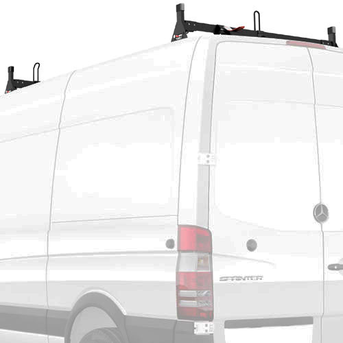 Vantech Sprinter Low Top Van 2007+ Aluminum 2 Bar Low Profile Utility Ladder Rack H2641
