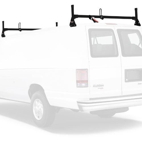 Vantech Steel 2 Bar Utility Ladder Van Rack