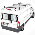 Vantech H1 Aluminum 3 Bar Utility Ladder Rack for 2014+ Dodge ProMaster Vans