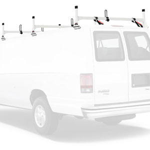 Vantech Steel 3 Bar Utility Ladder Van Rack