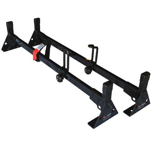 Vantech 42 Pick-up Truck Cap Rack 2 Bar Steel H1090