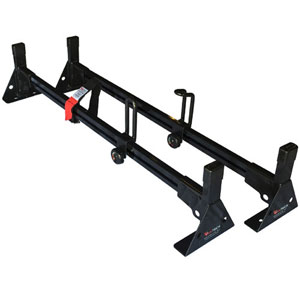 Vantech 63 Pick-up Truck Cap Rack 2 Bar Aluminum H1095