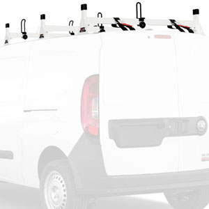 Vantech Dodge Ram ProMaster City Van 2015+ Steel 3 Bar Utility Ladder Racks H1348