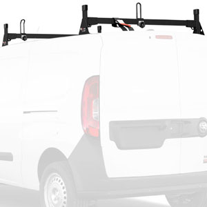 Vantech Dodge Ram ProMaster City Van 2015+ Aluminum 2 Bar Utility Ladder Racks H1357