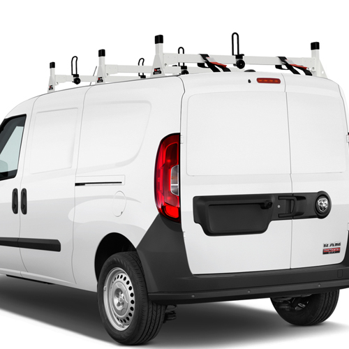 Vantech Dodge Ram ProMaster City Van 2015+ Aluminum 3 Bar Utility Ladder Racks H1358