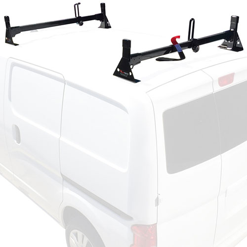 Vantech Nissan NV200 Steel 2 Bar Utility Ladder Van Racks H1602