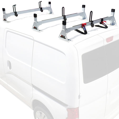Vantech Nissan NV200 Steel 3 Bar Utility Ladder Van Racks H1603