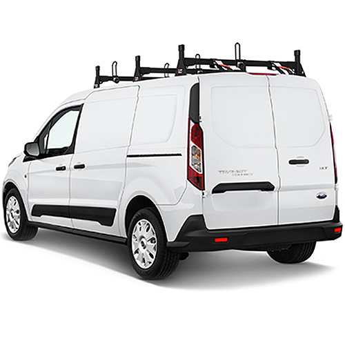 Vantech H1703 Ford Transit Connect 2014+ Steel 3 Bar Ladder Rack