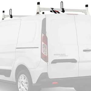 Vantech H1712 Ford Transit Connect 2014+ Aluminum 2 Bar Utility Ladder Racks