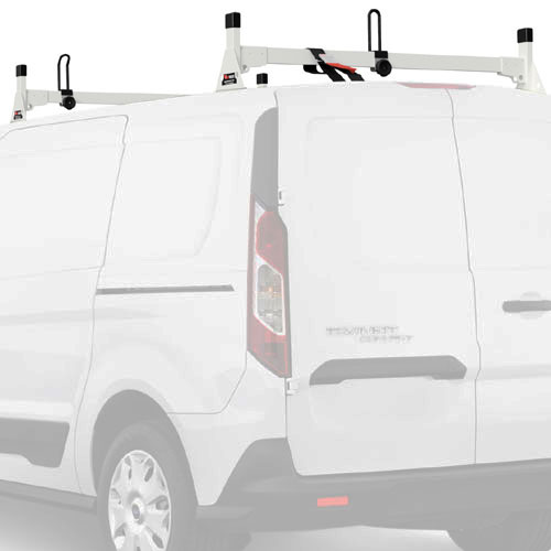 Vantech Ford Transit Connect 2014+ Aluminum 2 Bar Utility Ladder Racks H1712