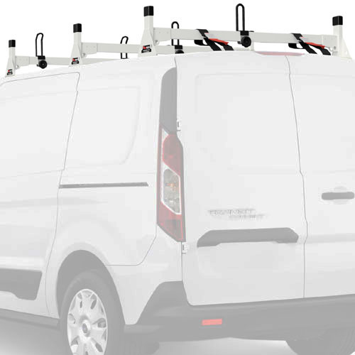 Vantech Ford Transit Connect 2014+ Aluminum 3 Bar Utility Ladder Racks H1713