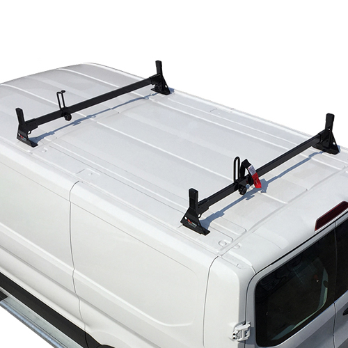 Vantech Ford Transit Cargo Van 2015+ Steel 2 Bar Utility Ladder Racks H1722