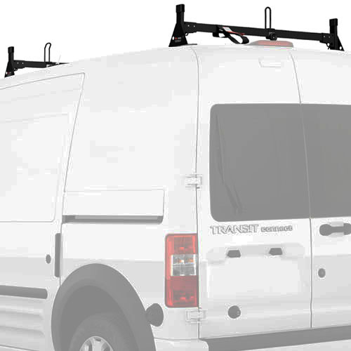 Vantech Ford Transit Connect 2008-13 Aluminum 2 Bar Low-Profile Utility Ladder Rack H2162