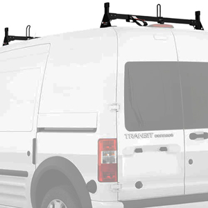 Vantech H2166 Ford Transit Connect 2008-13 Steel 2 Bar Low-Profile Utility Ladder Rack