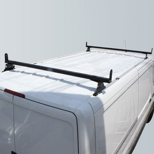 Vantech H3311 Sprinter Van 2007+ Aluminum 65 2 Bar Utility Ladder Rack, Side Stops