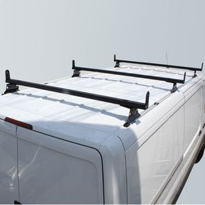 Vantech Sprinter Van 2007+ Aluminum 65 3 Bar Utility Ladder Rack, Side Stops H3312