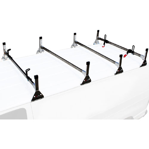 Vantech Stainless Steel 4 Bar Utility Ladder Van Racks
