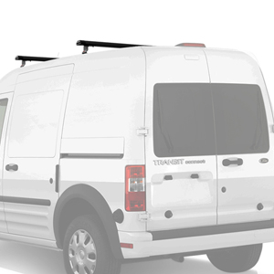 Vantech Ford Transit Connect 2008-13 Aluminum 50 2 Bar Aero Utility Ladder Racks J1050