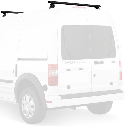 Vantech Ford Transit Connect 2008-13 Aluminum 50 2 Bar Aero Utility Ladder Racks With Tracks J1065