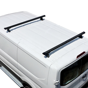 Vantech Ford Transit Cargo Van 2015+ Aluminum 2 Bar Heavy Duty Utility Ladder Racks H3702
