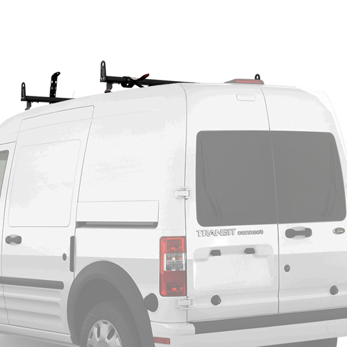 Vantech Ford Transit Connect 2014+ Aluminum 2 Bar 50 Utility Ladder Rack, Side Stops J2202