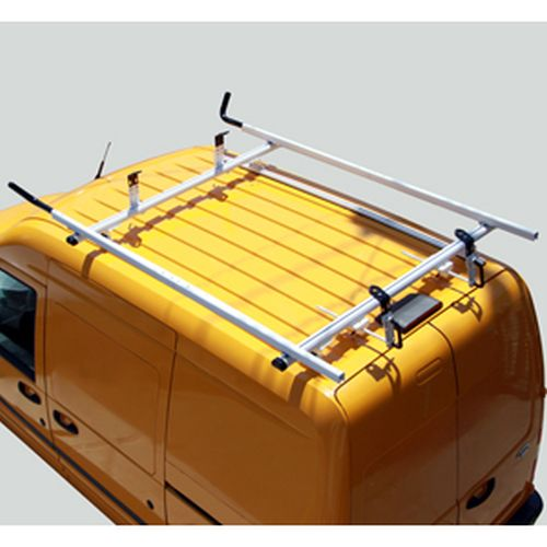 Vantech Ford Transit Connect 2008-13 Aluminum 2 Bar 72 Utility Ladder Rack J4065