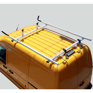 Vantech Ford Transit Connect 2008-13 Aluminum 2 Bar 96 Utility Ladder Rack J4075