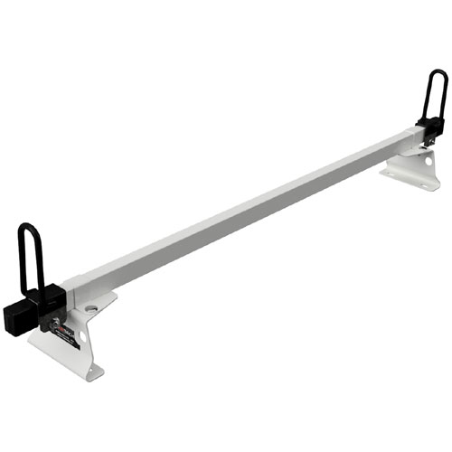 Vantech M Series 1 Bar Steel Enclosed Trailer or Box Truck Top Mount Utility Ladder Rack