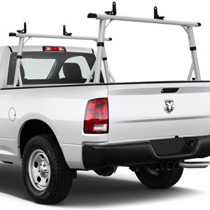 Vantech 65 Mid-Size Pickup Truck Ladder Racks Aluminum Clamp-On P3001