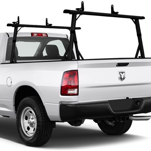 Vantech 72 Full-Size Pickup Truck Ladder Rack Aluminum Clamp-On P3002