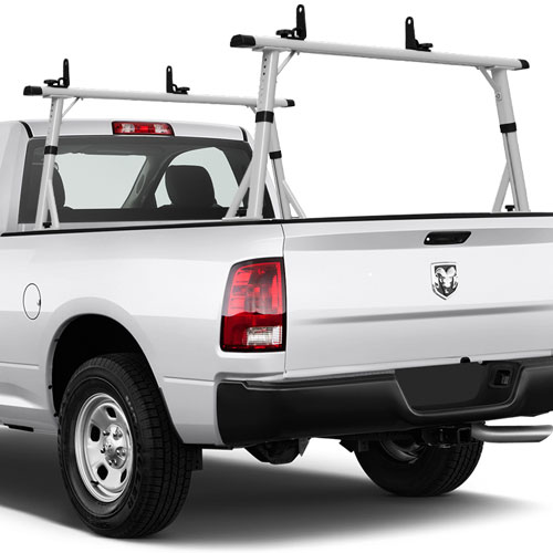 Truck Pipe Rack >> Vantech P3003 84 Aluminum Clamp On Full Size Pickup Truck Ladder