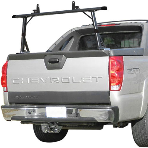 Vantech P3910 1 Bar Aluminum Truck Rack For Chevy
