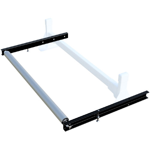 Vantech roh12460b Black 60 Wide Ladder Roller, 24 Extension for H1 Racks, 35% Off