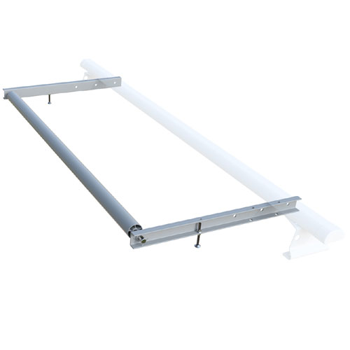 Vantech ROH336-36S 36 Wide Ladder Roller, 36 Silver Extension for H3 A285, A286 Racks, 35% Off