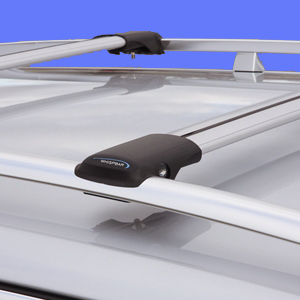 Whispbar Porche Cayenne 2003 - 2010 S44 Rail Bar Raised Railing Mounted Car Roof Racks
