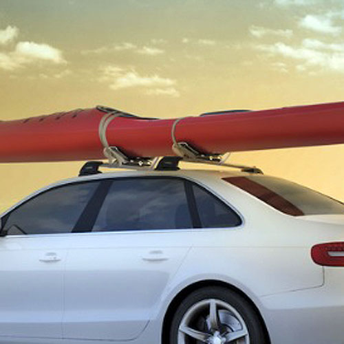 Whispbar wb401 Saddle Roller Kayak Carriers for Roof Racks, 25% Off